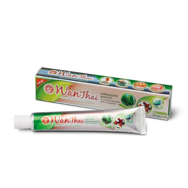 ยาสีฟันสมุนไพรว่านไทย (สูตรเข้มข้น)