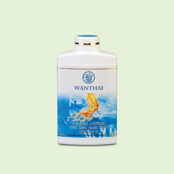 แป้งฝุ่นสมุนไพร (กลิ่นธรรมชาติ) ขนาด 100 g.